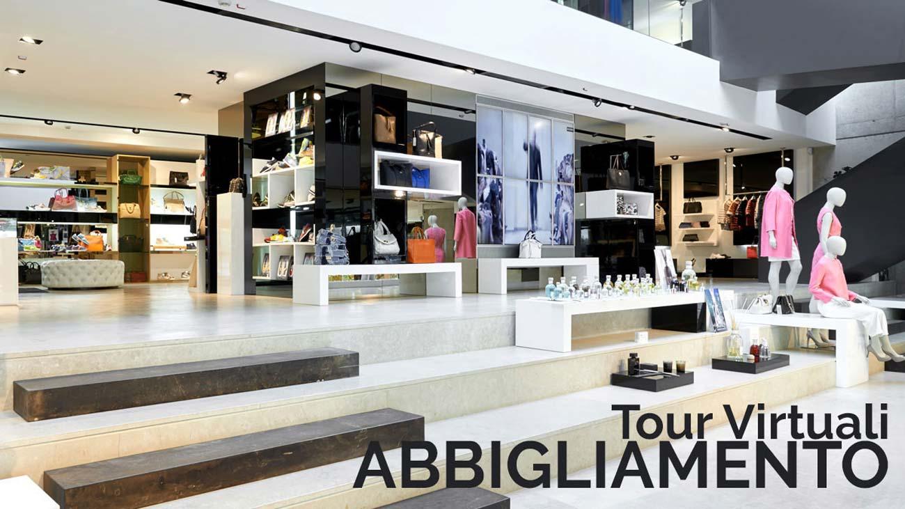 Virtual tours clothing