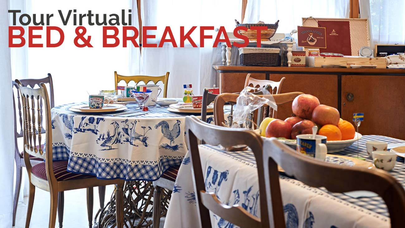 tour virtuali bed and breakfast