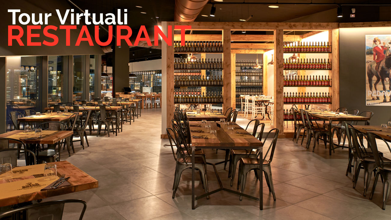 Virtual tours for restaurants