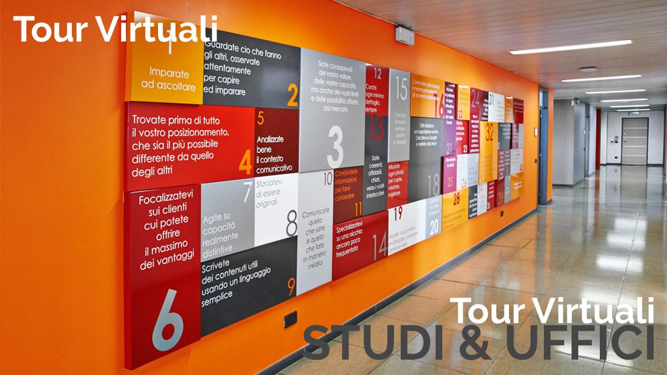 Virtual tours of professional studios