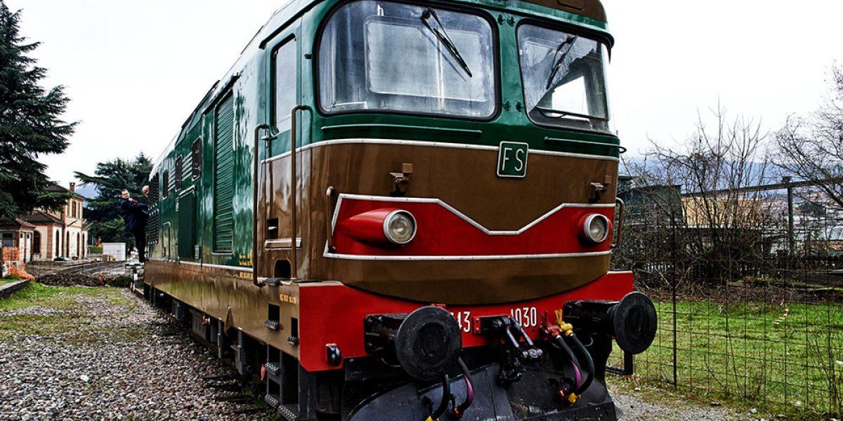 7a giornata Nazionale delle ferrovie dimenticate - Tratta Bergamo Paratico via Palazzolo S.O. con motrice elettrica ed a gasolio.