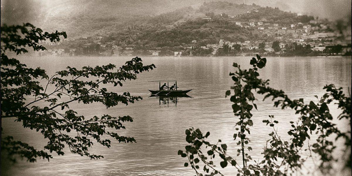 Allenamento sul Batell nel magnifico ramo di Lecco del Lago di COmo